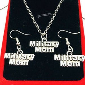 Jewelry - 🔳Mix&Match SALES Military Mom Necklace Earrings